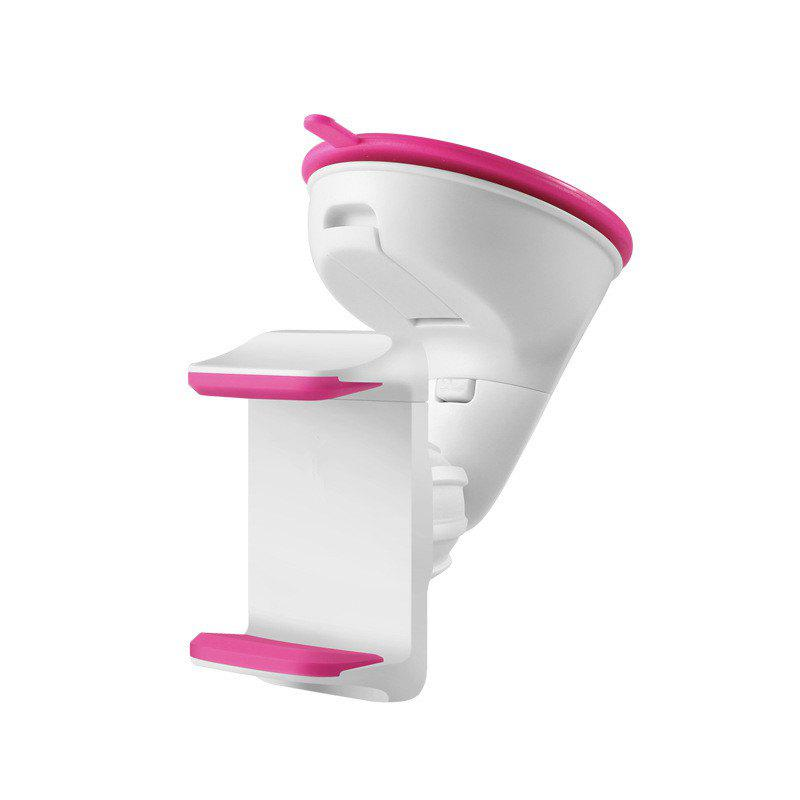 Multi-function silicone sucker vehicle mounts - PINK