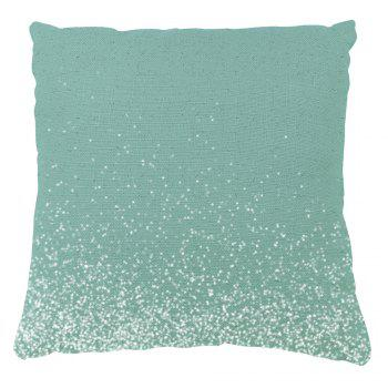 Christmas Home Decor Winter Elk and Snow Print Pillow Cases - LIGHT GREEN 16INCH*16INCH