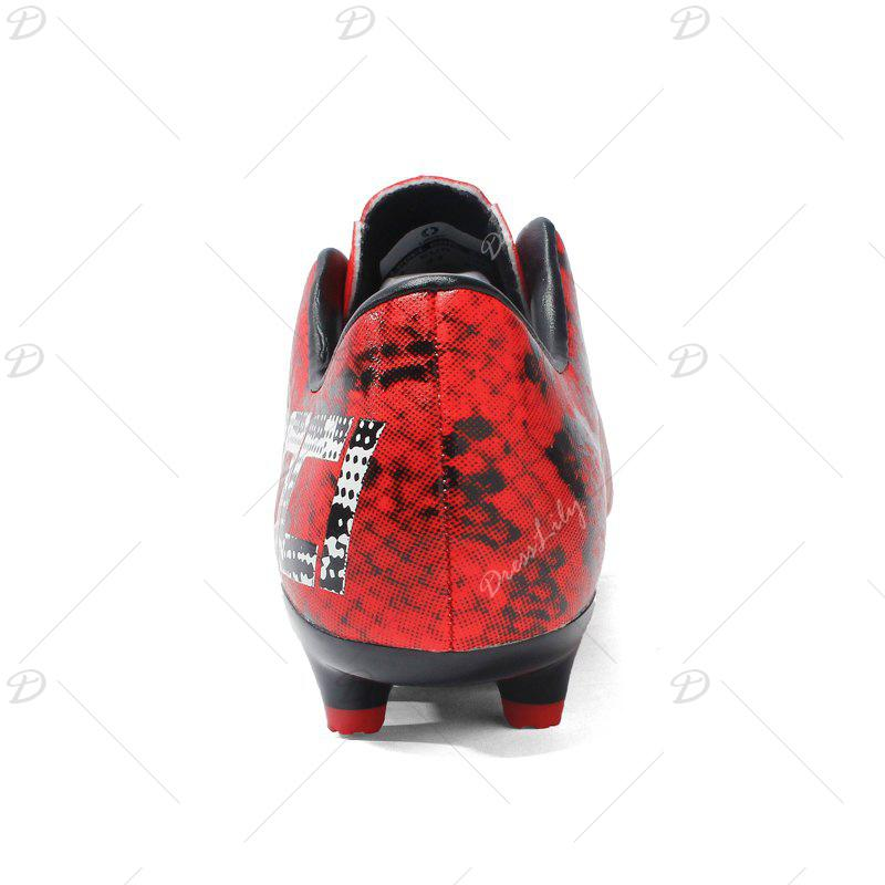 AG Football Shoes Soccer 8763C - RED 34
