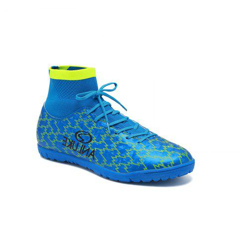 TF Football Shoes Soccer 9076 - BLUE 40