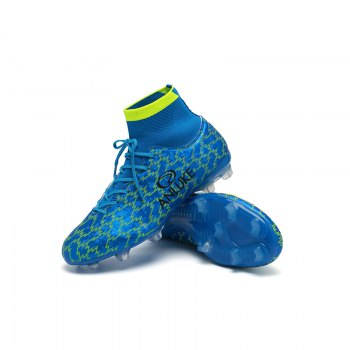 AG Football Shoes Soccer 9076C - BLUE 40