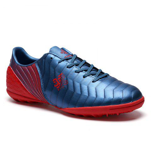 TF Football Shoes Soccer 9969 - BLUE RED 44