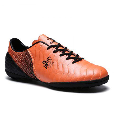 TF Football Shoes Soccer 9969 - ORANGE 34