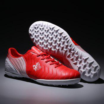 TF Football Shoes Soccer 9969 - RED WHITE 33