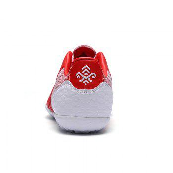 TF Football Shoes Soccer 9969 - RED WHITE RED WHITE