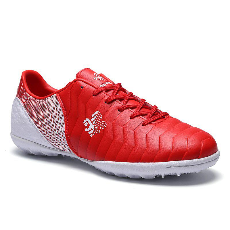 TF Football Shoes Soccer 9969 - RED WHITE 34