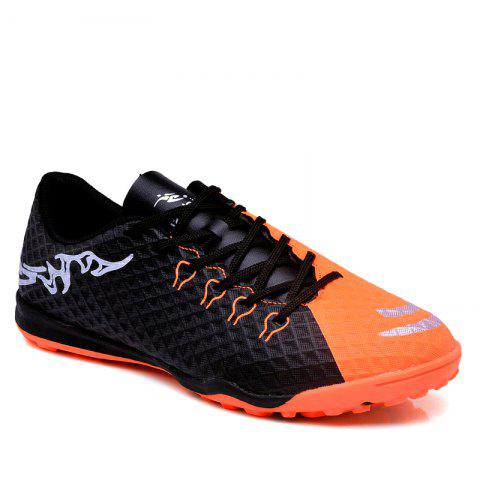 TF Football Shoes Soccer 1704 - BLACK 34