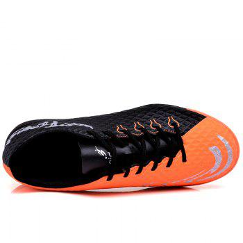 TF Football Shoes Soccer 1704 - BLACK 38