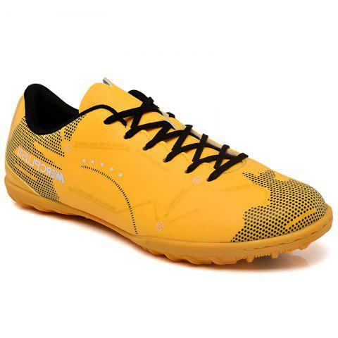 TF Football Shoes Soccer 1711 - YELLOW 43