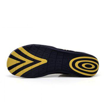 Hommes Plage Plongée Snorkeling Wading Shoes - Or 29