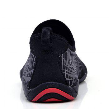 Men Beach Diving Snorkeling Wading Shoes - BLACK 40