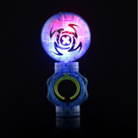 Light-emitting Magical Finger YOYO Toy - BLUE