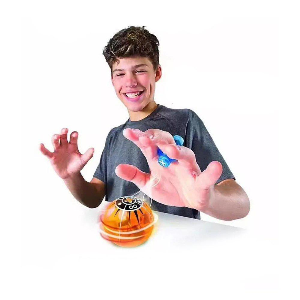 Light-emitting Magical Finger YOYO Toy - ORANGE