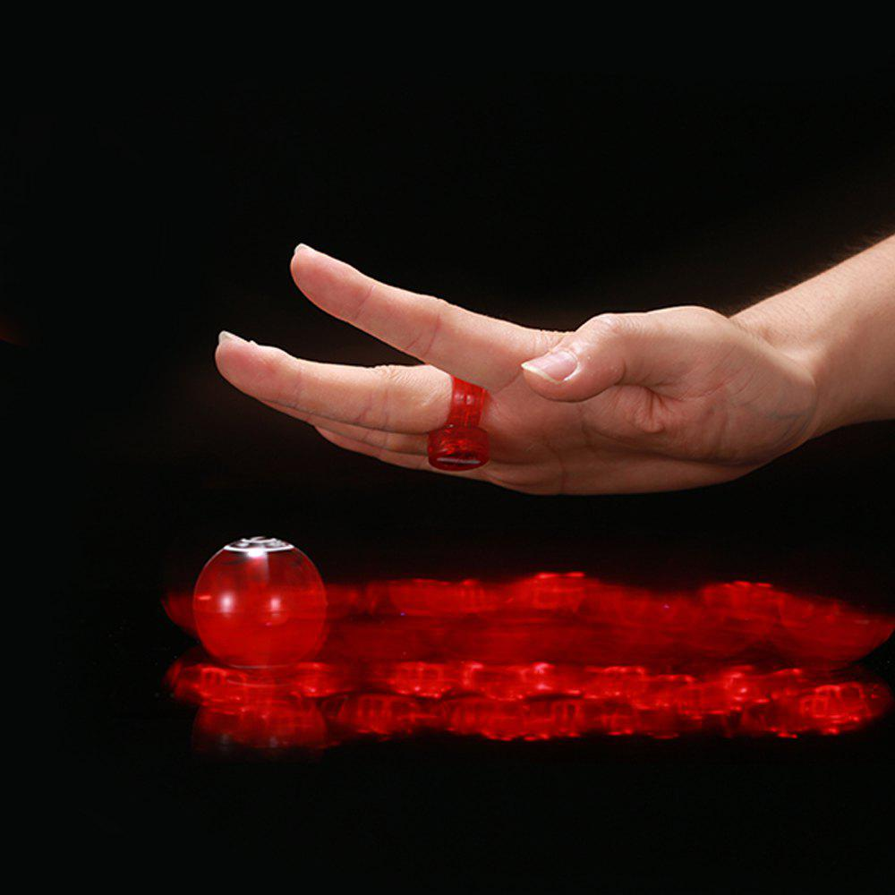 Light-emitting Magical Finger YOYO Toy - RED