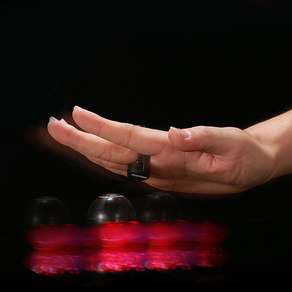 Light-emitting Magical Finger YOYO Toy - BLACK