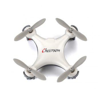 RC Drone Aircraft CX-10SE Built-in 6-axis Gyro with Remote Control Helicopter - WHITE