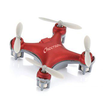 RC Drone Aircraft CX-10SE Built-in 6-axis Gyro with Remote Control Helicopter - RED