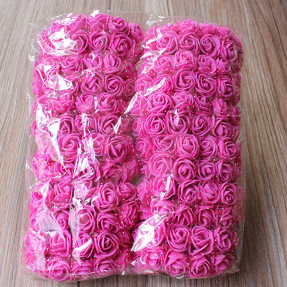 144 PCS Mousse Artificielle Rose Multicolore PE Fleurs Ornements Saint-Valentin cadeau - Frutti de Tutti