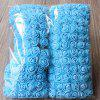144 PCS Artificial Foam Rose Multicolor PE Flowers Ornaments Valentine's Day present - BLUE