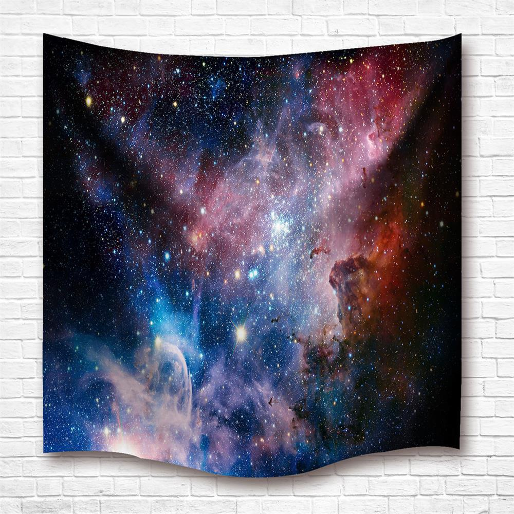 The Stars 3D Digital Printing Home Wall Hanging Nature Art Fabric Tapestry For Dorm Bedroom Living Room Decorations high quality led modern minimalist crystal pendant lamp light luxury living room bedroom art creative restaurant hanging lights