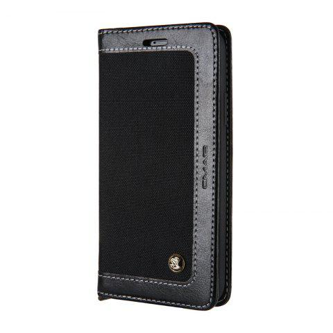 For Iphone X Belt Wallet Leather Case - BLACK