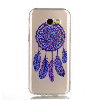 for Samsung A5 2017 Blue Bell Soft Clear TPU Phone Casing Mobile Smartphone Cover Shell Case - BLUE