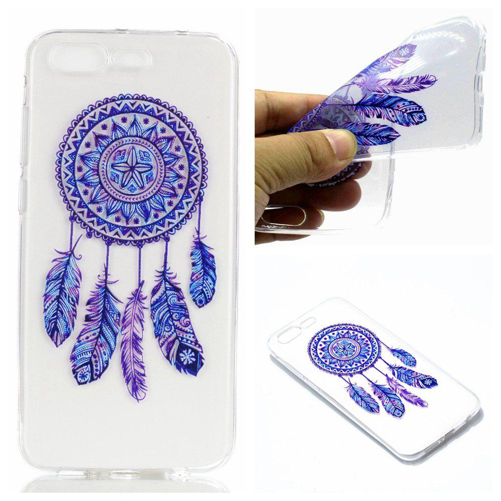 for Asus Zenfone4max ZC520KL Blue Bell Soft Clear TPU Phone Casing Mobile Smartphone Cover Shell Case - BLUE