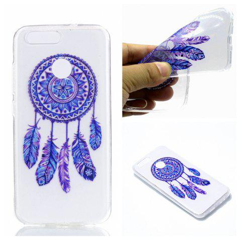for Huawei Nova2 Blue Bell Soft Clear TPU Phone Casing Mobile Smartphone Cover Shell Case - BLUE