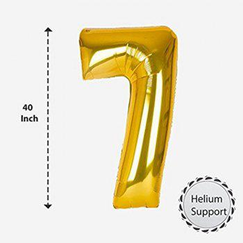 70TH Birthday Party Decorations Kit Happy Birthday Banner Number Balloons for Bday Party - GOLD/BLACK 1 SET