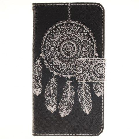 Cover Case for LG G3 Stylus D690 Black Wind Chimes PU+TPU Leather with Stand and Card Slots Magnetic Closure - BLACK