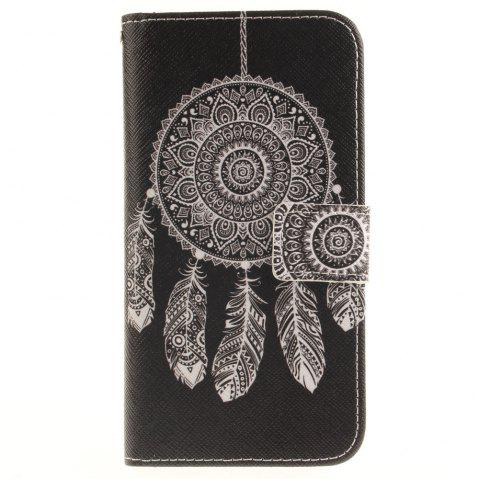 Cover Case For LG G5 Black Wind Chimes PU+TPU Leather with Stand and Card Slots Magnetic Closure - BLACK