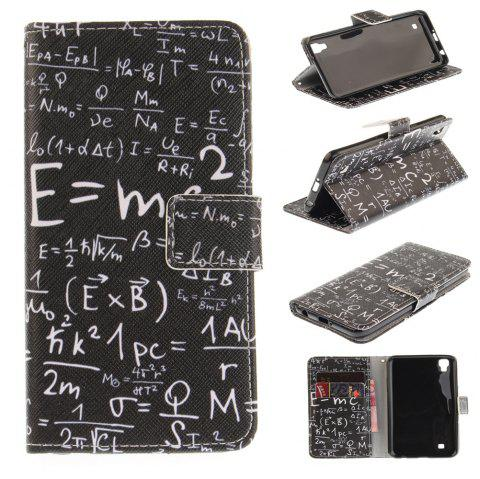 Cover Case For LG Xpower Digital Formula PU+TPU Leather with Stand and Card Slots Magnetic Closure - BLACK