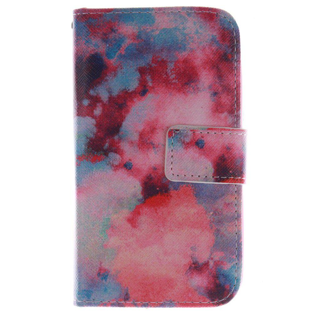 Cover Case For LG G2 Mini Red Sky PU+TPU Leather with Stand and Card Slots Magnetic Closure - RED