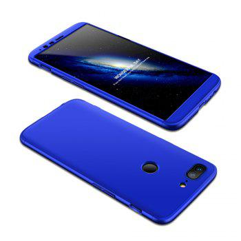 Cover Case for One Plus 5T 360 Degree Full Protection  Hard PC 3 in 1 Fundas Coque Back - BLUE BLUE