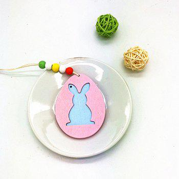 DIY Colorful Halloween Rabbit Pendant with A Variety of 6PCS - PINKISH BLUE