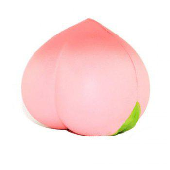 New Colossal Squishy Peaches Cream Scented Slow Rising Kids Toy - PINK