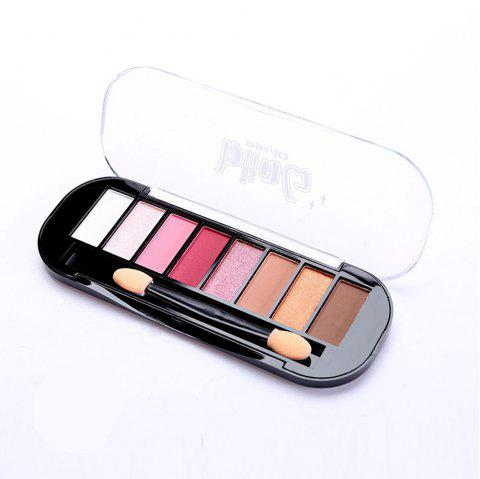 8-COLOR Matte Pearl Eye Shadow Disk - 1