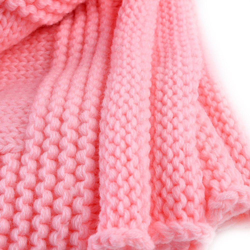 Child Blanketboys and Girls Knitted Blanket Love Wool Quilts - PINK
