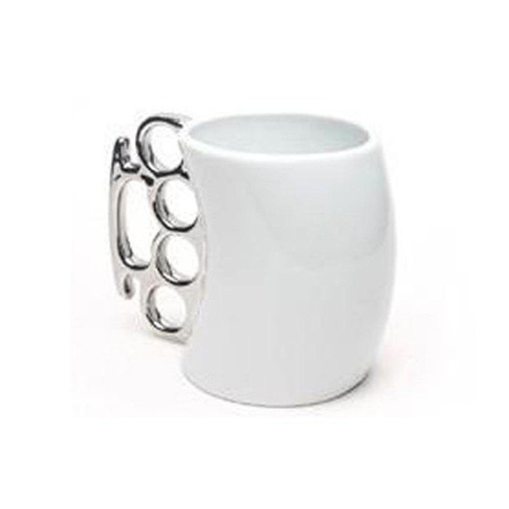 Stomp Boxing Cup Ring Fist Mug - WHITE