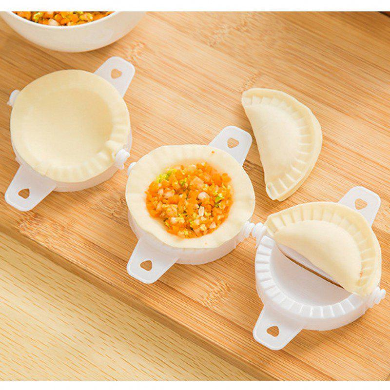 Handmade Dumpling Equipment Economical and Practical with Word Kitchen Appliances - WHITE
