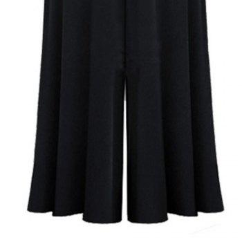 2018 Spring New Fashion Leisure Loose Trousers - BLACK 2XL