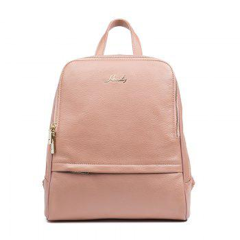 HMILY Backpack Women 100  Genuine Leather School