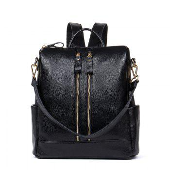 HMILY Backpack Female Genuine Cow Leather Women