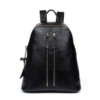 HMILY Genuine Leather Women Backpack England Style