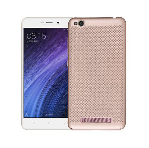 Cover Case for Redmi 4A Luxury Heat Dissipation Ultra Thin Matte hard PC - GOLDEN