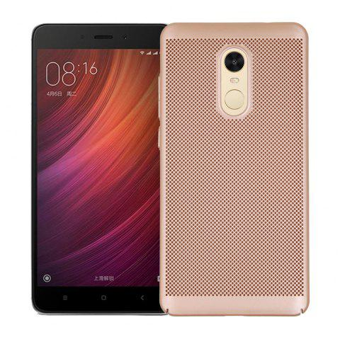 Cover Case for Redmi Note 4X / 4 Luxury Heat Dissipation Ultra Thin Matte Hard PC - GOLDEN
