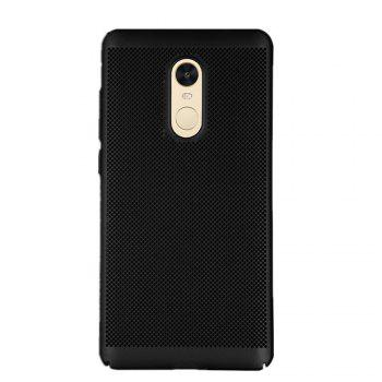 Cover Case for Redmi Note 4X / 4 Luxury Heat Dissipation Ultra Thin Matte Hard PC - BLACK