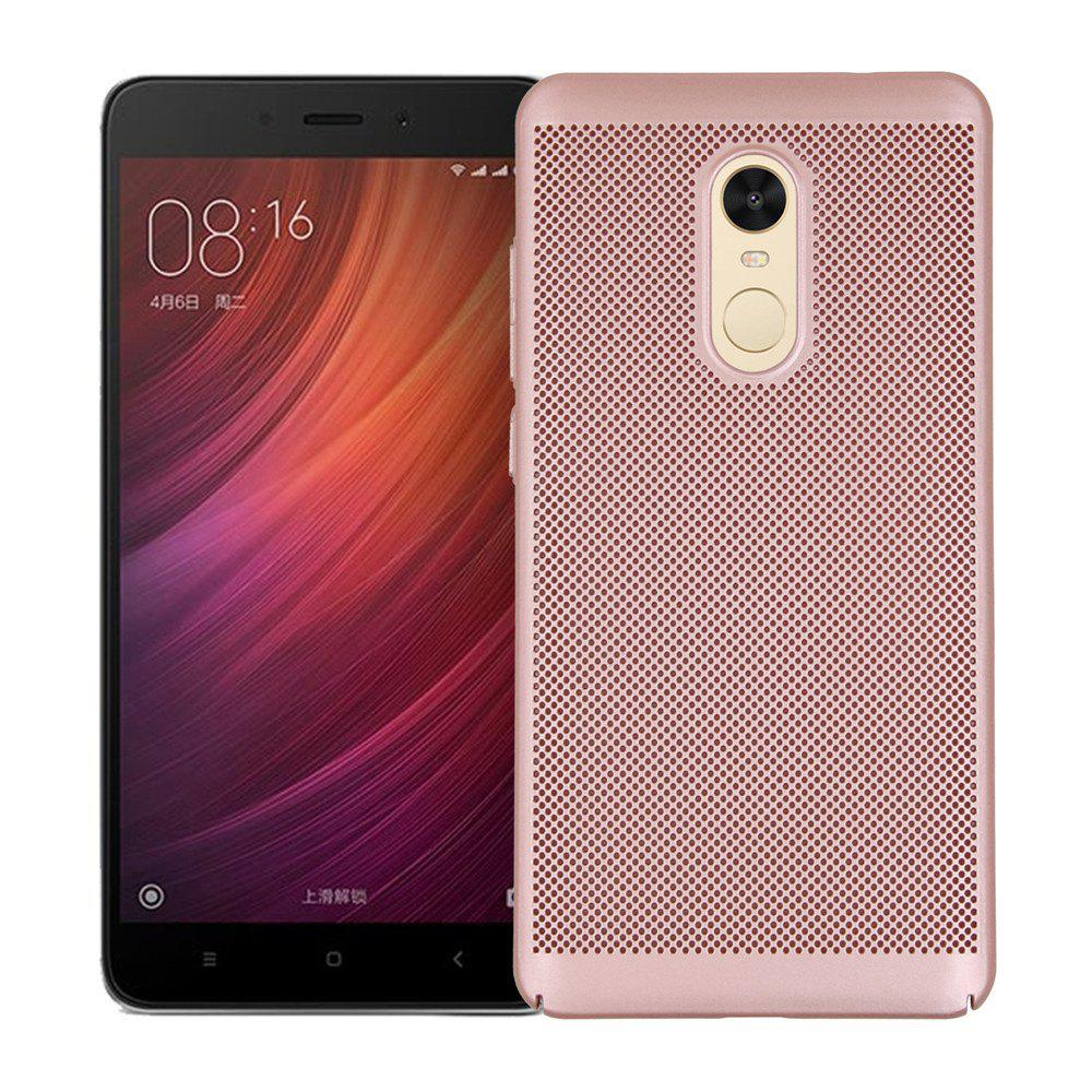 Cover Case for Redmi Note 4X / 4 Luxury Heat Dissipation Ultra Thin Matte Hard PC - ROSE GOLD