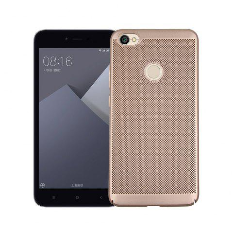Cover Case for Redmi Note 5A Luxury Heat Dissipation Ultra Thin Matte Hard PC - GOLDEN
