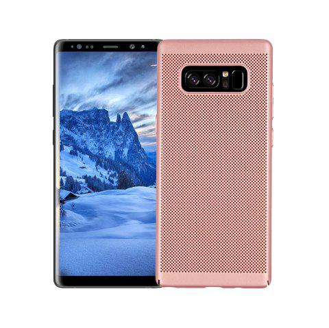 Cover Case for Samsung Galaxy Note 8 Luxury Heat Dissipation Ultra Thin Matte Hard PC - ROSE GOLD